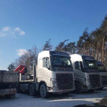 Trzy Ciężarówki Szambo Rambo
